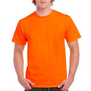 Safety t-shirt orange